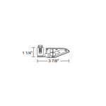 TL103 Halogen Flood Track Fixture 12V -  /