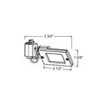 TL103 LED Mini-Flood Track Fixture 12V -  /