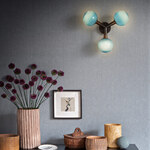Stem 3X Wall Sconce / Ceiling Light -
