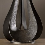Lino Table Lamp - Dark Smoke / Natural Anna