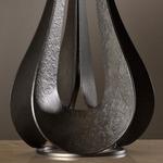 Lino Table Lamp - Dark Smoke / Natural Anna