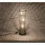 Lit Mesh Test Table Lamp - New Bronze /