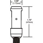 Monorail 2-Circuit FJ Fixture Connector -  /