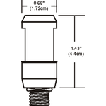 Monorail FJ Fixture Connector -  /