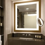 Momentum Square Lighted Mirror by Electric Mirror