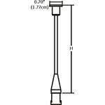 Monorail Rigid Standoff -  /