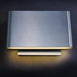 E41310 Alumilux Wall Light - Satin Aluminum /