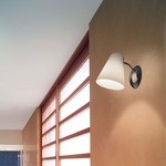 Micetta P2 Wall Sconce - Chrome / White