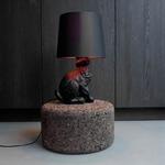 Rabbit Lamp - Black / Black