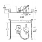 NW4000E 3 Inch 35W ELV Non-IC New Construction Housing -  /