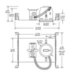 NW7000E 4.25 Inch 50W Non-IC New Construction Housing -  /