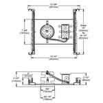 NWLED200U1 4 Inch 12W LED Non-IC New Construction Housing -  /
