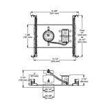 NWLED300LU1 3.5 Inch 12W LED Non-IC New Construction Housing -  /