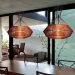 Net Pendant Lightology Dining Room