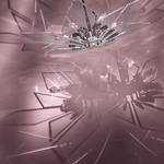 Glassy Suspension - Polished Nickel / Clear