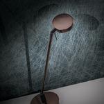 Georges Reading Room LED Flat Head Desk Lamp - Chrome /
