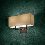 P472 Wall Sconce - Chrome / White