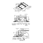 Aurora Halogen Square Edge 3.3 Inch Invisible Trim/Housing -  /