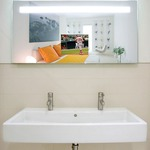 Quantum Lighted Mirror by Electric Mirror