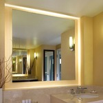 Serenity Square Lighted Mirror by Electric Mirror