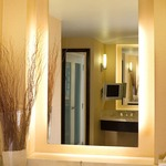 Serenity Rectangular Lighted Mirror -  /