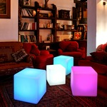 Cube 17 LED Outdoor/Indoor Lamp by Smart & Green