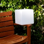 Dice Indoor Outdoor Table Lamp by Smart and Green