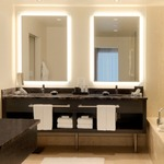 Silhouette Rectangular Lighted Mirror -  /