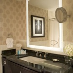 Silhouette Square Lighted Mirror -