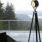 Searchlight 1940 Floor Lamp by Authentic Models