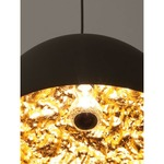 Stchu Moon Suspension - Black / Gold Leaf