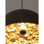 Stchu Moon Suspension - Black / Gold Leaf