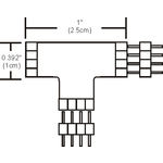 Soft Strip T Connector -  /