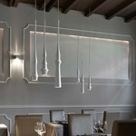 Slend 3 Pendant by Bover