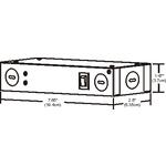 60W 12VDC Hardwire LED Electronic Power Supply -  /