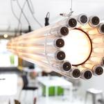 Recycled Tube TL8 Light Pendant - White /