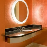 Trinity Lighted Mirror -