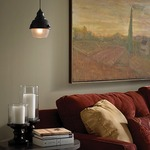 Freejack Mini Clybourn Frost Glass Pendant by Tech Lighting
