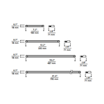 Unilume Slimline Undercabinet Light 90CRI -  /