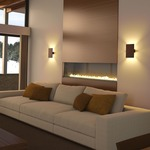 Tersus Wall Light by Cerno