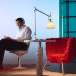 Tolomeo Shade Desk Lamp with Base by Artemide