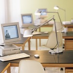 Tolomeo Desk Lamp by Artemide Installation