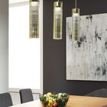 Trista Grande Pendant by LBL Lighting