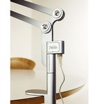 Link Small Desk Clamp Mount - Silver /