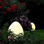 Uovo Outdoor Floor or Table Lamp -  /