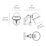 Tolomeo Classic Wall Spot with Switch -  /