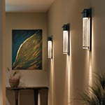 Airis Large Outdoor Wall Sconce by Hubbardton Forge