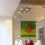 Aixlight Square MR16 Pendant by SLV Lighting