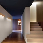 Alba Dimmable Wall Light by Bover