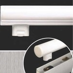 Alinea LED Bathroom Vanity Light - Satin Chrome /
